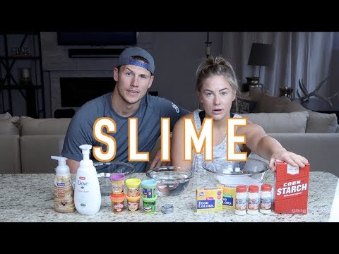 TWO AMAZING AND EASY SLIMES!! | Shawn Johnson