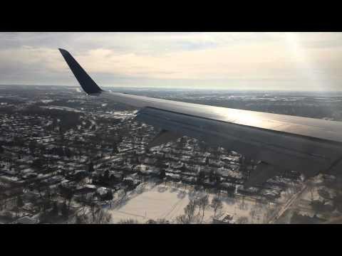 Beautiful landing in Green Bay, Wisconsin