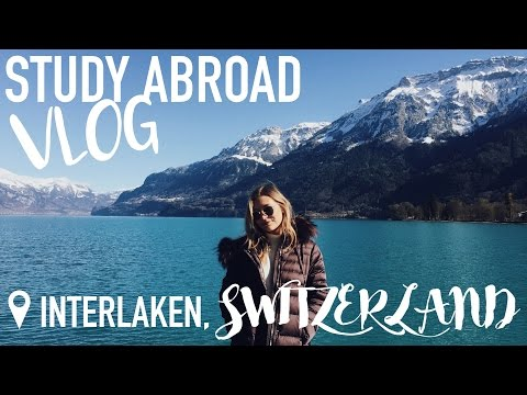 Weekend in Interlaken Switzerland with Friends! | Study Abroad Vlog