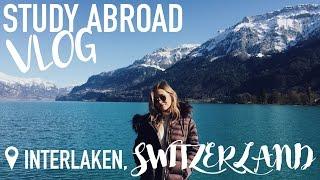 Weekend in Interlaken Switzerland with Friends! | Study Abroad Vlog