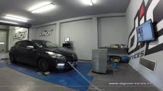 Renault Clio 4 GT 1.2 TCE 120cv Reprogrammation Moteur @ 128cv Digiservices Paris 77 Dyno