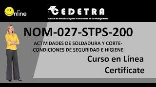 NOM-027-STPS-2008  / INTERPRETACIÓN / CURSO EN LÍNEA