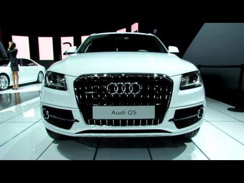 2013 Audi Q5 TDI Quattro - Exterior and Interior Walkaround - 2012 Los Angeles Auto Show