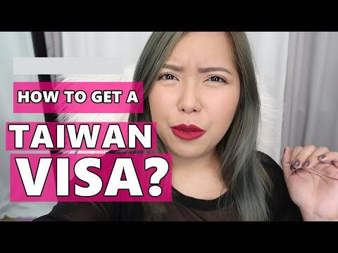 HOW TO GET A TAIWAN E-VISA | PHILIPPINES (June 27, 2017)- saytioco