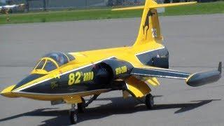 300KM/H FAST STARFIGHTER F-104S ITALIAN AIR FORCE RC TURBINE SCALE MODEL JET