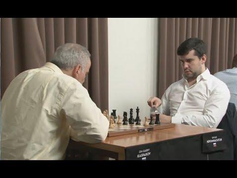 A Historic Chess Game In The Rapid Sinquefield 2017 RD5 kasparov vs Nepo