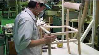 Manufacturing Process Of Lightwood Chair, Designed By Jasper Morrison