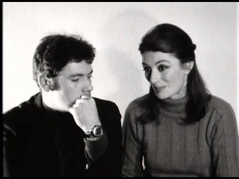 Anouk Aimée et Pierre Barouh  Un homme et une femme 1966
