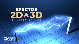 REYES Digital | Tutorial Efectos 2D aa 3D con After Effects