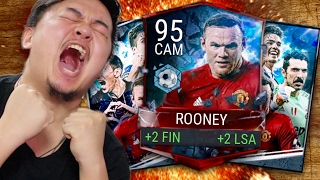 INSANE RECORD BREAKER OPENING!! RB ROONEY!! ULTIMATE FLASHBACK PULLED!! FIFA MOBILE IOS / ANDROID