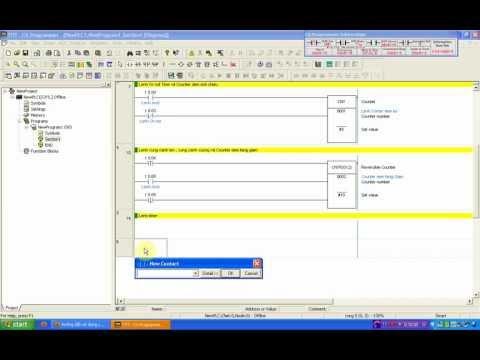 Hướng dẫn lập trình PLC Omron cơ bản