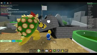 Roblox-Super Mario 3D Roleplay #25- Bowser's Destroyed Castle!