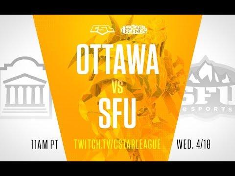 CLoL Play-in: Group A - Simon Fraser vs Ottawa - Game 2
