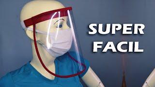 COMO HACER PROTECTOR  FACIAL SUPER FACIL|Tips De Confección
