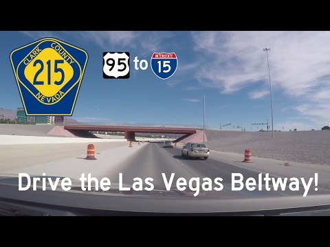 Clark County Highway 215 - US Highway 95 - Interstate 15 - Nevada | Drive America's Highways 🚙