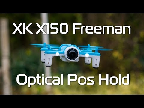 the BEST WiFi copter - XK X150 720p Optical Positioning Copter