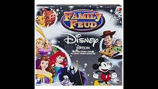 Family Feud: Disney Edition Board Game Showdown #1