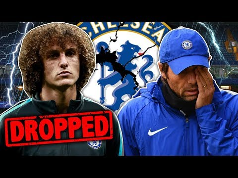 David Luiz To Be FORCED Out Of Chelsea By Conte! | Transfer Talk
