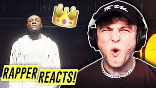STORMZY - CROWN (OFFICIAL PERFORMANCE VIDEO) | RAPPER REACTS