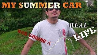Real life My Summer Car was a bad idea!