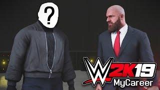 MASKED ATTACKER REVEALED!! | WWE 2K19 My Career Mode Ep #4