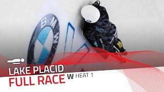 Lake Placid | BMW IBSF World Cup 2019/2020 - Women's Skeleton Heat 1 | IBSF Official
