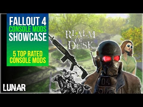 Fallout 4 Console Mods Week 10: NCR Armor, Busty EV, M.D. Wolfe's Shipping & More!