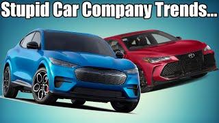 Stupid Car Manufacturer Trends!