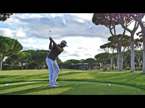 Full 18 Holes in 4 minutes 57 seconds - Dom Pedro Millennium Course
