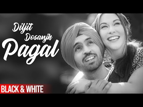 Pagal(Official B&WVideo) |Diljit Dosanjh | Latest Punjabi Songs 2020 | Speed Records