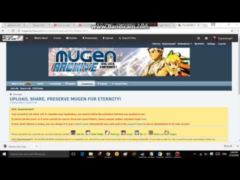 i need your help - Mugen archive - YouTube