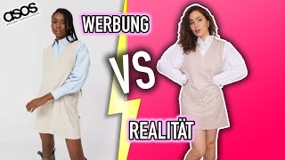 WERBUNG VS. REALITÄT - Try On Fashion Haul (Asos) | Sonny Loops