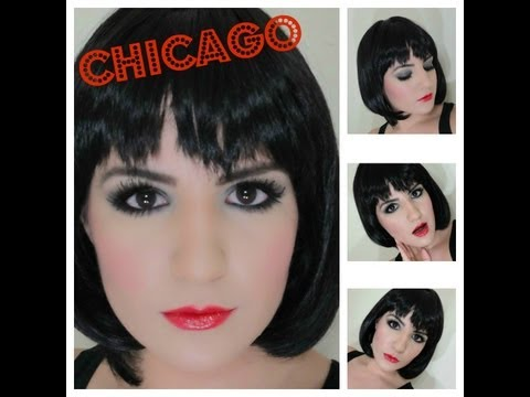 CHICAGO: Velma Kelly's Inspired Makeup Tutorial for Halloween