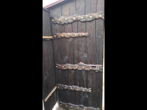 Дверь в стиле рустик своими руками
