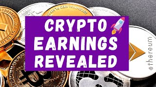 Cryptocurrency Earnings REVEALED I How to earn Cryptocurrency 2021 I Undervalued Crypto Masternodes