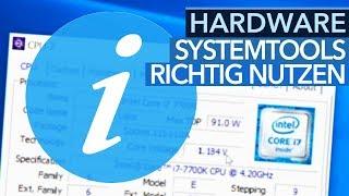 Hardware-Tipps - Mit System-Tools mehr über die eigene Hardware erfahren