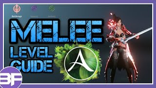 ArcheAge Level Guide - Melee (skill choices)