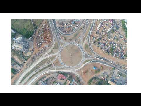 MINISTER FOR ROADS AND HIGHWAYS COMMISSIONS IMPROVED TEMA MOTORWAY ROUNDABOUT- RADIO GHANA BRODCAST