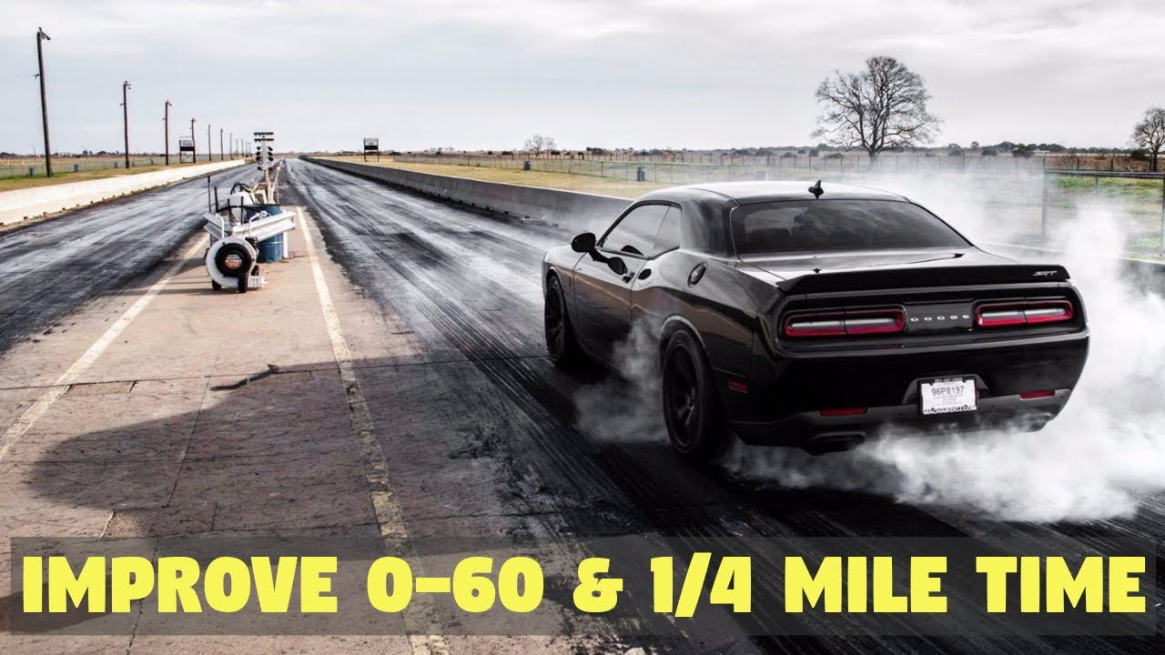 Tips on How to Get Faster 0-60 & Quarter Mile Times - WITHOUT MODS