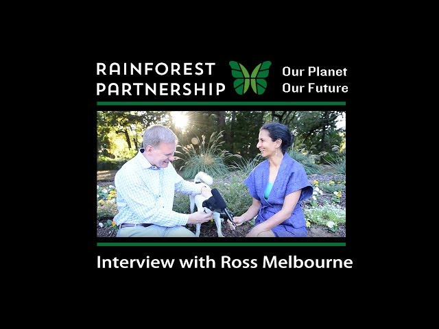 Our Planet. Our Future. Interview with Ross Melbourne.