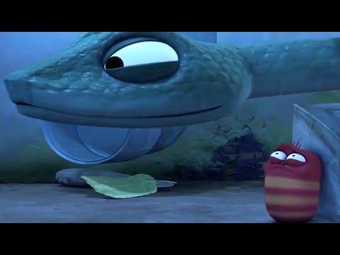 LARVA - SLIPPERY SNAKE Cartoons For Children | Larva Full Movie | Larva Cartoon | LARVA Official