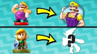What happens when Wario tries to paint EVERY Amiibo?