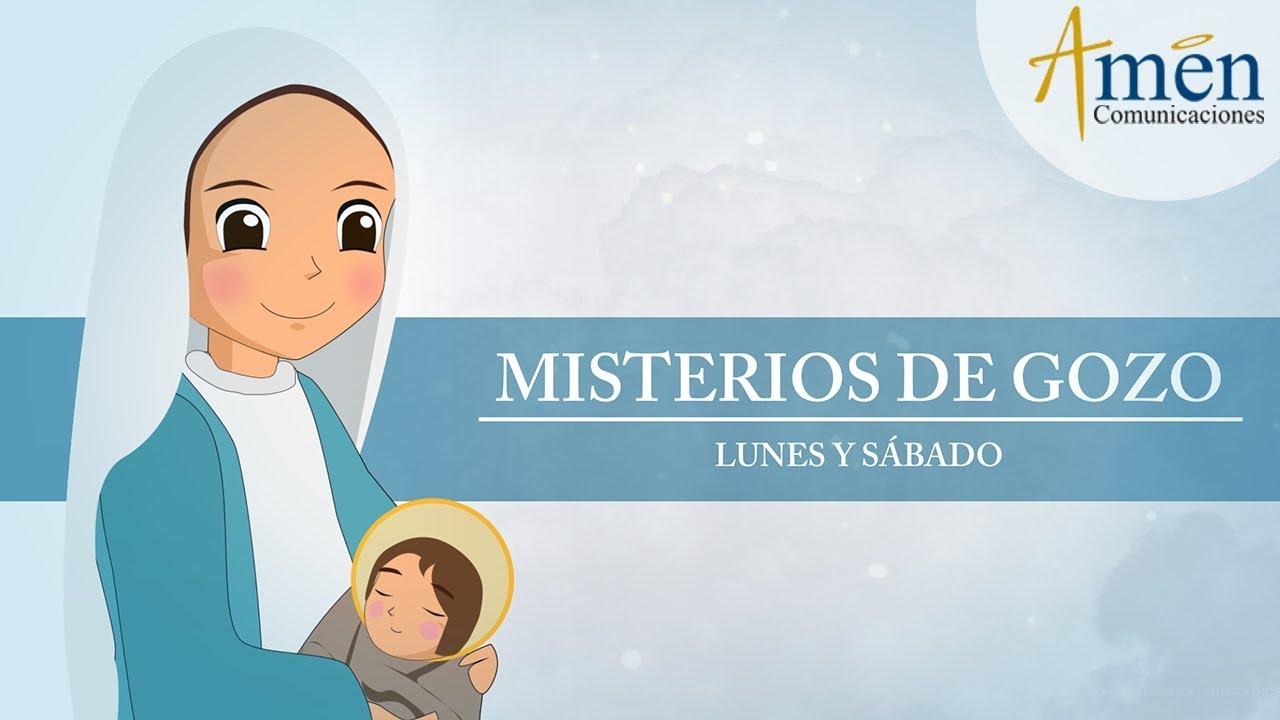 Rosario Infantil Misterios Gozosos Lunes Y Sábado