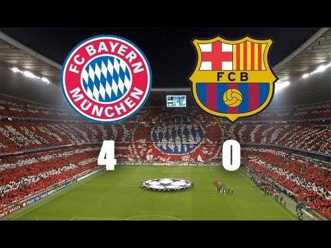 Hd Bayern Monaco Barcellona 4 0 Champions League 2013