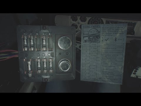 Blair Witch - How To Fix Fuse Panel Sheriff Truck - YouTubeYouTube