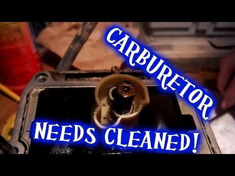 Pulling the carburetor off - Wr250f project Part 1