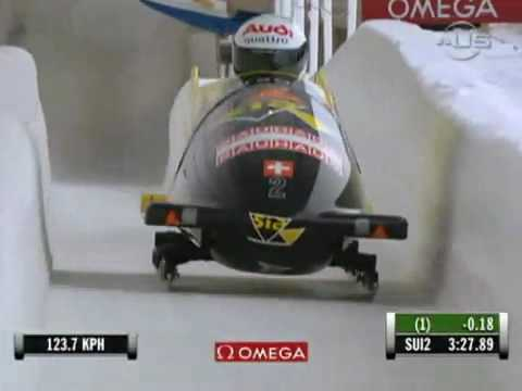 Team Switzerland Bobsled Champs from Universal Sports