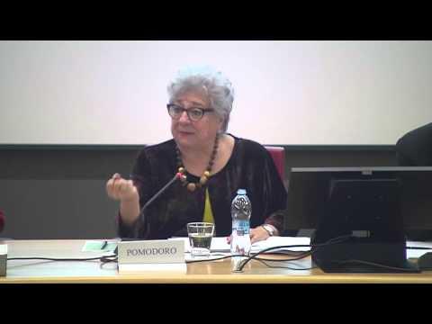 6. Livia Pomodoro | CIBO E ACQUA - CONVEGNO