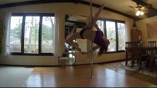 Why'd You Only Call Me When You're High? - Arctic Monkeys Pole Dance Freestyle