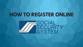 How To Register SSS Online